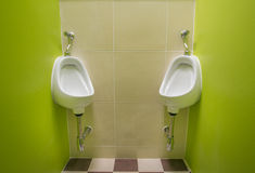 Pièce de toilette publique Photos stock