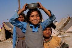 Pièce de trois enfants sur le festival Images stock