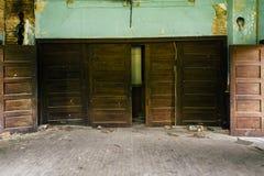 Pièce des portes - église des syndicats de ville de Cannel - ville de Cannel, Kentucky Photographie stock libre de droits