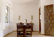pièce dinning intérieure Photo stock