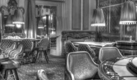 Pièce du casino VIP photographie stock