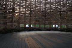 Pièce en bambou Photographie stock libre de droits