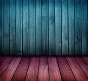Pièce en bois de cru coloré Photo stock