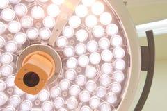Pièce en fonction de lampes chirurgicales Photographie stock