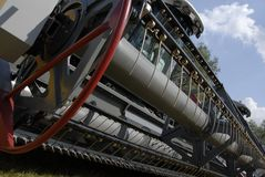 Pièce en métal du train Image libre de droits