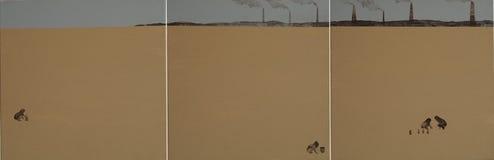 Pièce en sable Photographie stock libre de droits