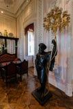 Pièce intérieure du palais du 19ème siècle de Pena Images libres de droits