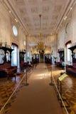 Pièce intérieure du palais du 19ème siècle de Pena Images stock