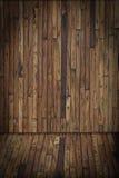Pièce intérieure en bois Image libre de droits