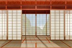 Pièce japonaise Image stock