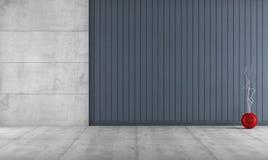 Pièce minimaliste sans meubles Photos libres de droits