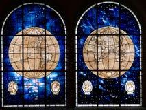 Pièce navale de gloires au musée maritime à Valparaiso, Chili images libres de droits