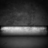 Pièce noire et blanche abstraite Photographie stock libre de droits