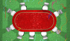 Pièce pour le jeu dans le tisonnier. Le thème d'an neuf Illustration Libre de Droits