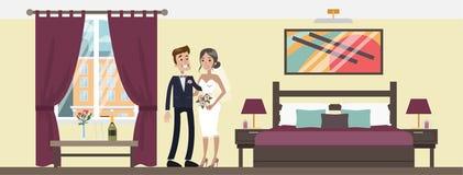 Pièce pour marié illustration de vecteur