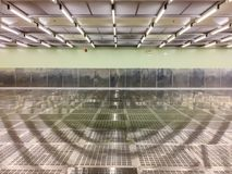 Pièce propre intérieure à l'usine, pièce vide, industrielle image libre de droits