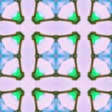 Pièce sale de fractale d'aquarelle Photo stock