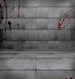 Pièce sanglante foncée illustration de vecteur
