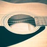 Pièce toujours de la vie de guitare photo libre de droits