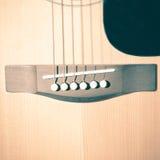 Pièce toujours de la vie de guitare photographie stock libre de droits