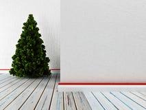 Pièce vide avec le pin illustration libre de droits