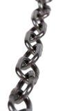 Pièces à chaînes en métal Photo stock