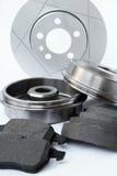 Pièces automatiques de frein Image libre de droits
