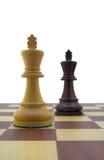 Pièces d'échecs Image libre de droits