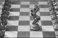 Pièces d'échecs Images libres de droits