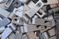 Pièces d'acier brut Images stock