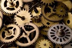 Pièces d'horloges image libre de droits