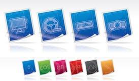 Pièces d'ordinateur Image stock