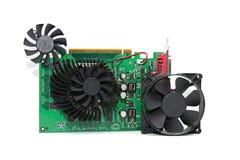 Pièces d'ordinateur Images stock