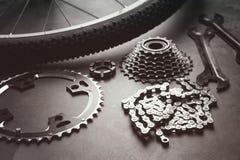 Pièces de bicyclette Images stock