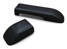 Pièces de fibre de carbone Image stock