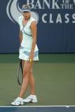 Pièces de Maria Sharapova à l'excursion de WTA Photos libres de droits