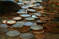 Pi?ces de monnaie Photos libres de droits