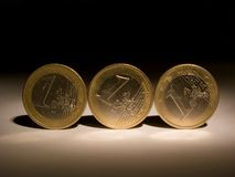 Pièces de monnaie [13] image stock