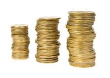 Pièces de monnaie. Photos stock