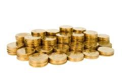 Pièces de monnaie. Photo libre de droits