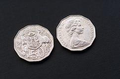 Pièces de monnaie Photographie stock libre de droits