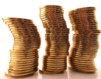 Pièces de monnaie Photographie stock