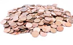 pièces de monnaie Images libres de droits