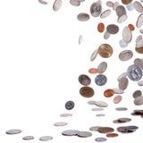 Pièces de monnaie américaines Photos libres de droits