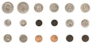Pièces de monnaie américaines Photos stock