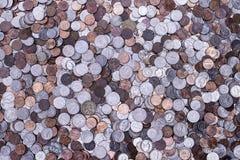 Pièces de monnaie américaines photographie stock libre de droits