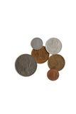 Pièces de monnaie antiques Photos stock