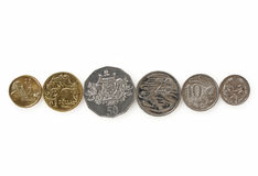 Pièces de monnaie australiennes