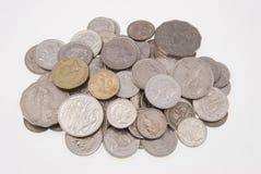 Pièces de monnaie australiennes Images stock