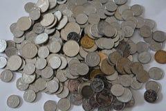 Pièces de monnaie chinoises Images stock
